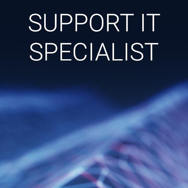 Posizione lavorativa SUPPORT IT SPECIALIST